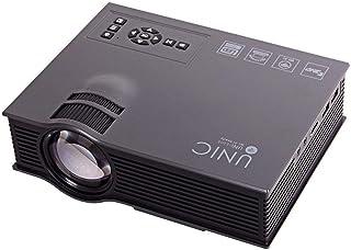 جهاز عرض UNIC UC68H تم تحديثه UNIC UC46 Full HD LED مع 2500 لومن / Airplay/Miracast/HDMI/USB/SD/AV/VGA/DLAN Home Theater Projector