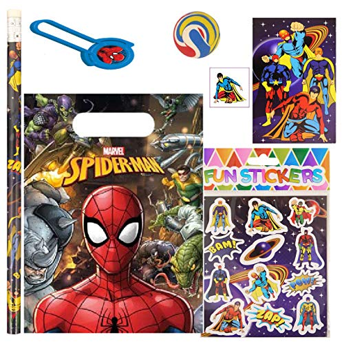 SPIDERMAN PRE FILLED PARTY BAG
