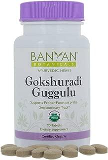 Banyan Botanicals Gokshuradi Guggulu - Certified Organic, 90 Tablets - Supports Proper Function of the Genitourinary Tract
