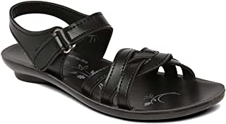 PARAGON P-Toes Kid's Black Sandals