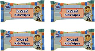 Cool & Cool Dr. Cool Kids Wipes, 4's
