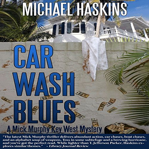 Car Wash Blues audiobook cover art