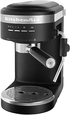 KitchenAid KES6403BM Semi-Automatic Espresso Machine, One Size, Matte Black