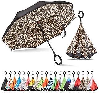 Sponsored Ad - Sharpty Inverted Umbrella, Umbrella Windproof, Reverse Umbrella, Umbrellas for Women with UV Protection, Up...