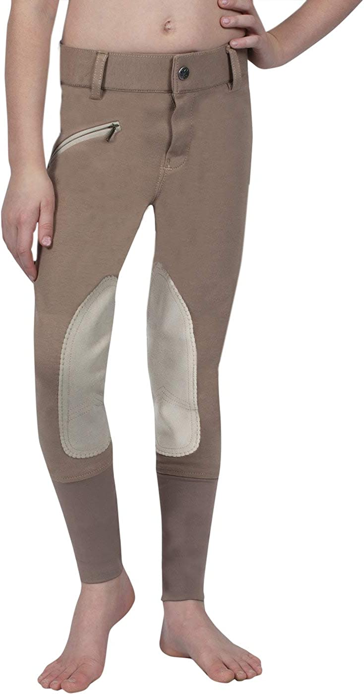 ELATION Horseback Riding Pants for Girls Sales for sale Euro Tan Max 42% OFF Seat Boys –