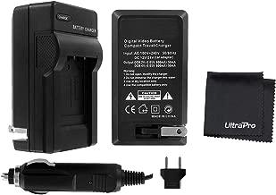 UltraPro Rapid Charger for EN-EL15 Battery w/ 110/240v Car and EU Adapters - Compatible with Nikon Z6, Z7, D7500, D7200, D7100, D7000, D850, D810A, D810, D800E, D800, D750, D610, D500