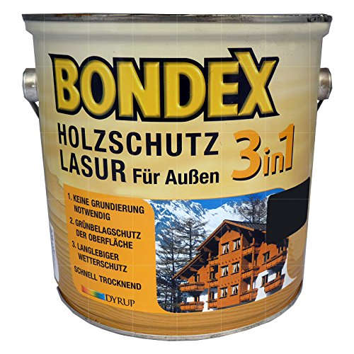 """Bondex \""""Holz-Lasur für aussen 3in1\"""" - 750ml (800-Weiß)"""