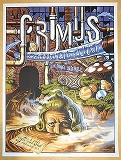 2015 Primus - New Orleans II Silkscreen Concert Poster by Jason Edmiston