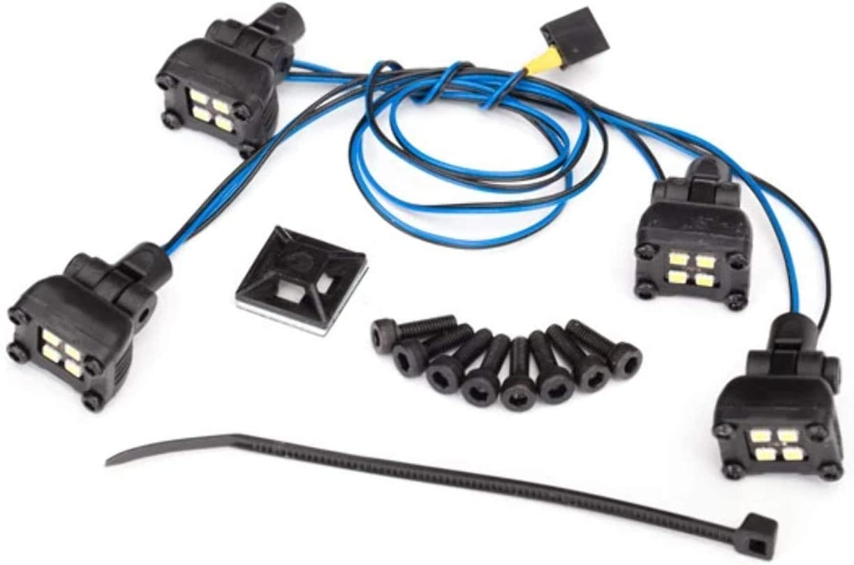 Traxxas wholesale TRA8086 Ranking TOP2 LED Expedition Rack Light Scene #8111 Kit: Fits
