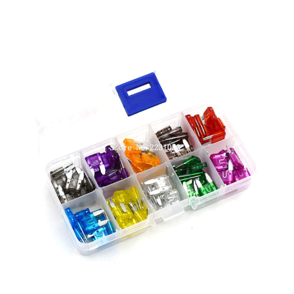Small Fuse Kit 100PCS Auto Automotive Dealing full price reduction Blade Max 79% OFF Truck Boat Car