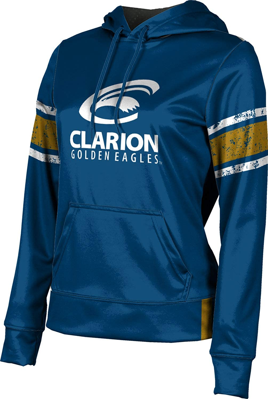 ProSphere Clarion University Girls' Pullover Hoodie, School Spirit Sweatshirt (End Zone)
