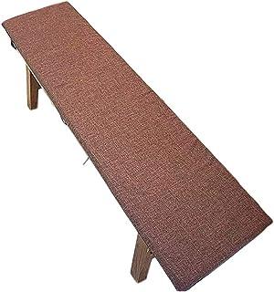 per interni ed esterni Cuscino antiscivolo per panca da giardino A,87 x 28 cm con lacci di fissaggio cuscino per dondolo morbido cuscino per sedia a sdraio 2 posti Yzzlh