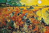 1art1 Vincent Van Gogh - Der Rote Weingarten, 1888 XXL