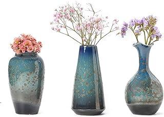 Amazon Com Vases Blue Vases Home Decor Home Kitchen