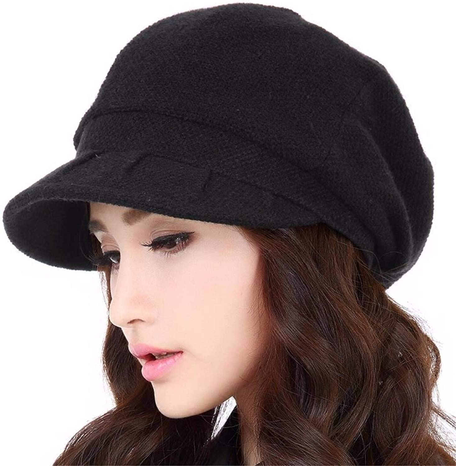 Dingkun During the spring and autumn days Fashion Cap knitting cap female autumn and winter Knitted Hats