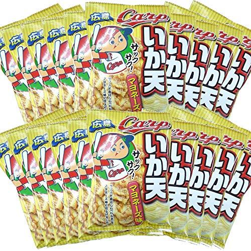カープ ひとくち いか天 マヨネーズ味 20袋(1袋24g×20)