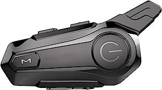 Intercomunicador BT para motocicleta com capacete de rádio FM Headset BT Sistema de comunicação universal à prova d'água p...