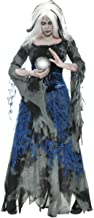 Ladies Ragged Witch Clairvoyant Fortune Teller Gypsy Full Length Long Halloween Fancy Dress Costume Outfit UK 8-18 (UK 8-10)