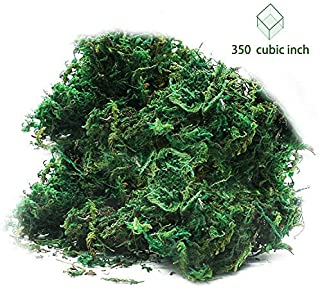 Timoo Fake Moss for Plants, Artificial Green Moss for Flower Plant Garden Lawn Crafts Wedding Decoration