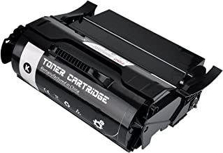 FDC Toner T650H11A T650H21A Remanufactured Toner Cartridge Compatible for Lexmark Laser Printers T650 T652 T654 T656 Toner Black 25,000 Pages
