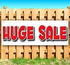 Huge Sale 13 oz Heavy Duty Vinyl Banner Sign with Metal Grommets, New, Store, Advertising, Flag, (Many Sizes Available)