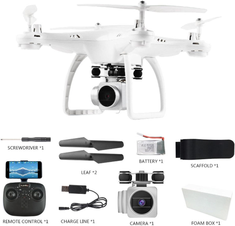 1500mAh Ultra-Lange Akkulaufzeit Drohne Mit WiFi Echtzeit-übertragungskamera HD One Key Take Off Land Hhe Halten 360 ° Rolling Aircraft Toys,Weiß-1080P