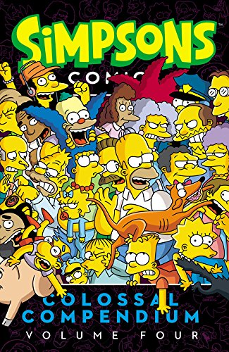 Simpsons Comics Colossal Compendium - Volume 4