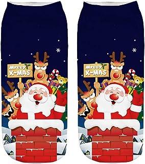 Calcetines unisex para vacaciones, Navidad, regalo de Navidad