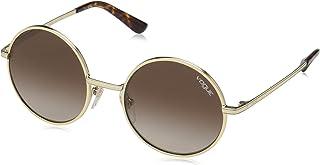 Vogue Round Women's Sunglasses - 4085S-848/13-50-19-135 mm, Brown Lens