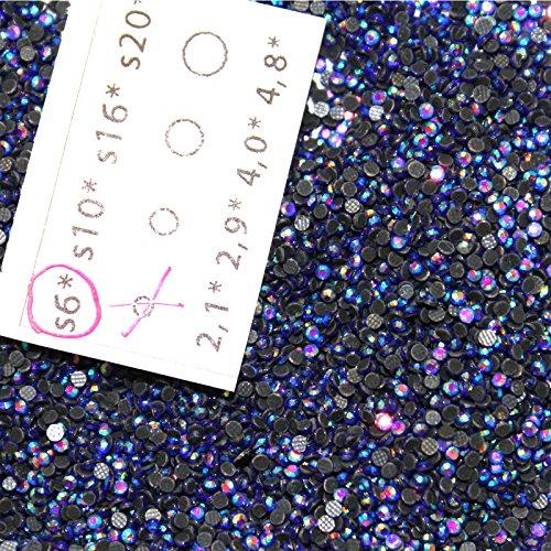 2mm 1000 Strass AB Violet Hotfix s6 n°204