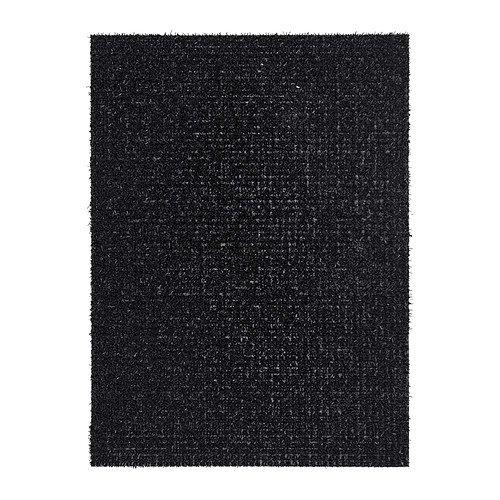 IKEA YDBY -Fußmatte schwarz - 58x79 cm