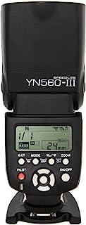 Yongnuo YN560 III - Flash con Zapata (ángulo de Giro 0-270