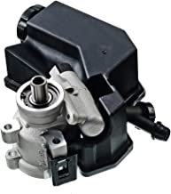 A-Premium Power Steering Pump with Reservoir for Jeep Grand Cherokee 2001-2004 Dodge Ram 1500 2004-2006 Viper 2003-2006