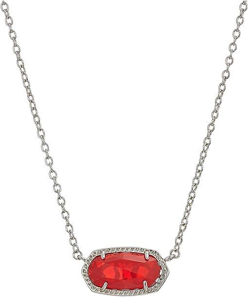 Rhodium/Ruby Red