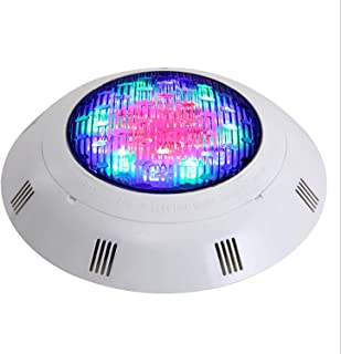 Underwater Swimming Pool Lights RGB Color Changing Surface Wall Mounted Waterproof Submersible Light with Remote Controlle...
