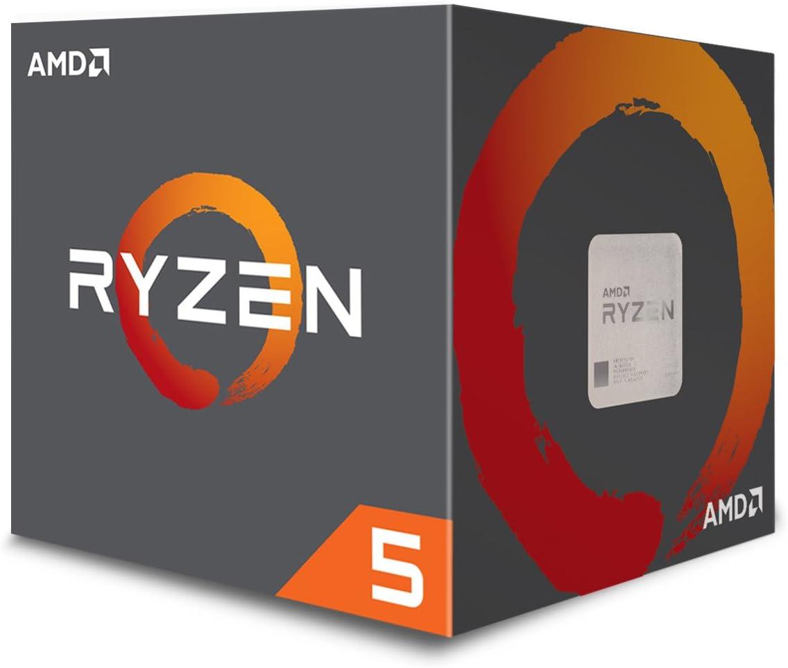 Amazon Com Amd Ryzen 5 1600 Processor With Wraith Spire Cooler Yd1600bbaebox Computers Accessories