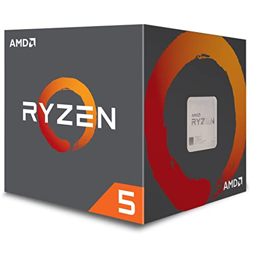 AMD Ryzen 5 1600 3.2GHz Caja - Procesador (AMD Ryzen 5, 3,2 GHz, Socket AM4, PC, 32-bit, 64 bits, 3,6 GHz)