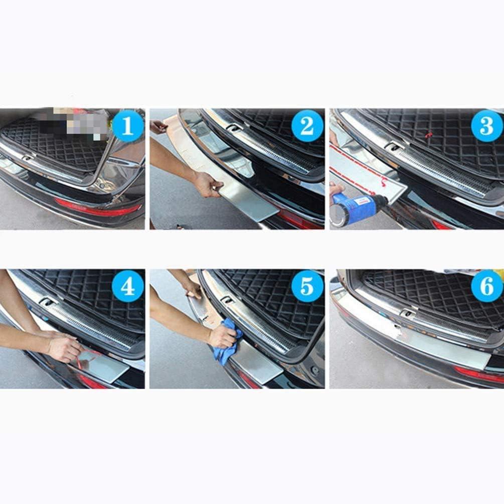 pour Honda CR-V CRV 2007 2008 2009 2010 Seuils De Porte De Protection De Pare-Chocs Arri/ère Plaque De Protection HOUGE Seuil De Protection De Pare-Chocs Arri/ère en Acier Inoxydable De Voiture A