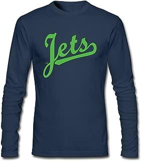 Men's Fashion Jets Helmet Sticker Long Sleeve T