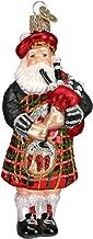 Highland Santa Christmas Ornament