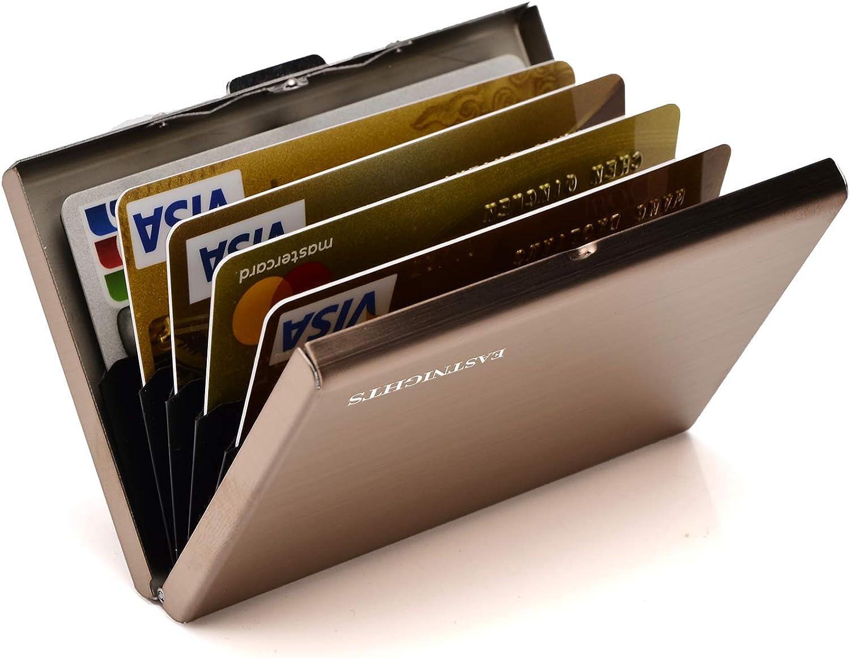 RFID Credit Card Overseas parallel import regular item Holder Slim Case Wallet New color ID Busi Metal