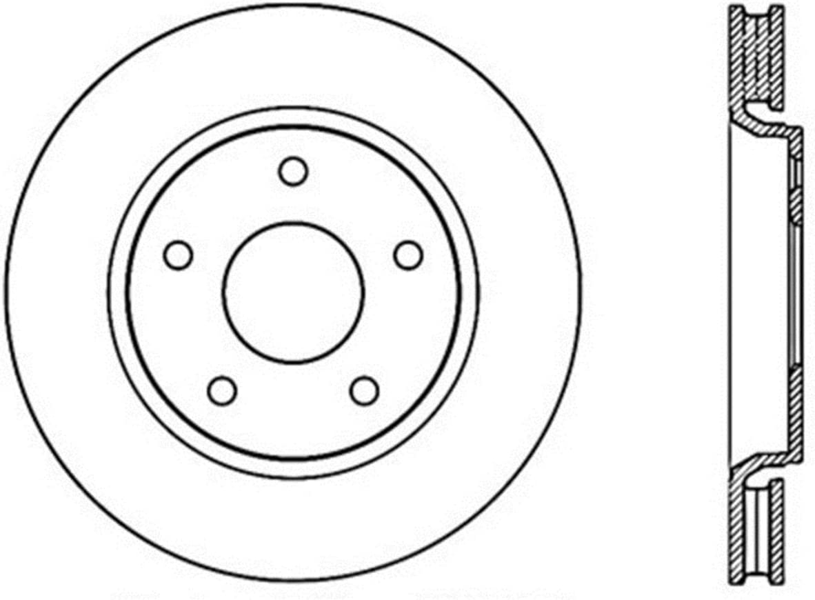 StopTech Max 70% OFF Large special price 127.67069R Sport Drilled Slotted Rotor Front Brake Rig