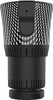 2-in-1 Heating Cooling Cup, Car Cup Cooler Mug Warmer, Mini Fridge 12V Smart Car Office Cup Mug Holder Drink Holder Water ...