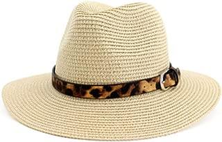 Ethnic Style Straw hat Outdoor Seaside Beach hat Sunscreen Visor hat hat