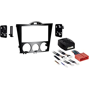Metra 99-7520B Single or Double DIN Installation Dash Kit for 2010-Up Mazda CX-7