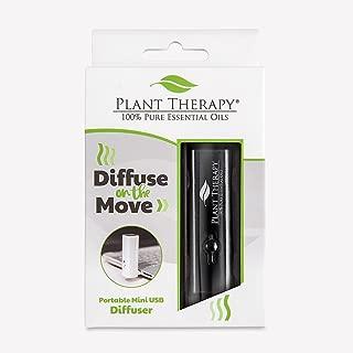 Plant Therapy Diffuse on the Move Portable Diffuser - Black