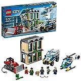 LEGO City - Huida con bulldózer (60140) Juego de construcción
