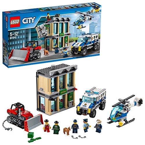 LEGO City Polizei 60140 - Bankraub mit Planierraupe