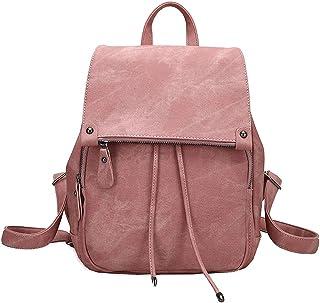 SPEEDEVE Damen Kleinen Rucksack Umhängetasche Handtasche Mädchen Schulrucksäcke Casual Daypack PU Leder Rucksäcke Reise Schultasche