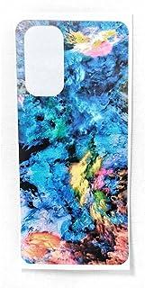 جلد خلفي من ألياف الكربون ، مطبوع بالليزر مطفي وناعم ، سهل التركيب فيفو Y19 - 2725610037946
